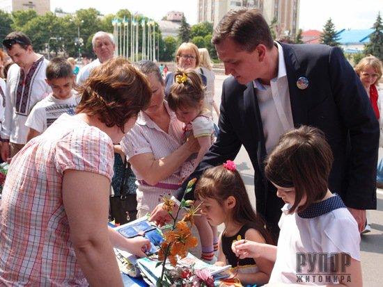Юрій Павленко: Нашу партію підтримують все більше українців, а це означає, що вони розділяють наші цінності та ідеї