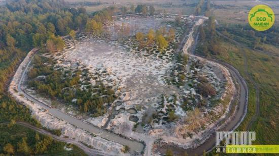 Автомайдан прибув на Житомирщину перевірити, як змінилася ситуація з нелегальним видобутком бурштину