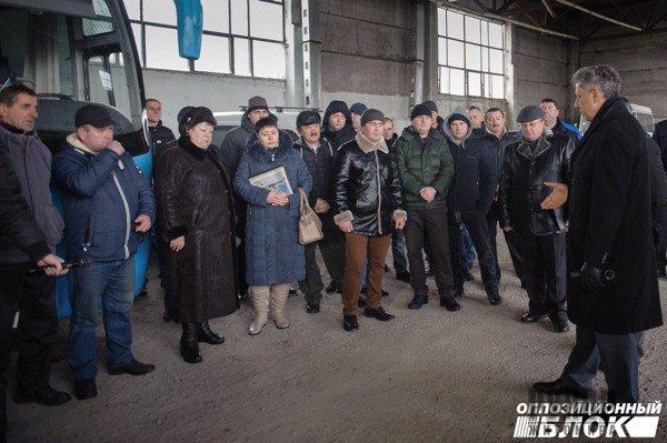 Бюджет повинен дати людям шанс вижити, а не будувати поліцейську державу, - Юрій Бойко в Олевську
