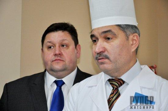 Губернатор Житомирщини на відкритті томографа: Ми не обіцяємо – ми робимо