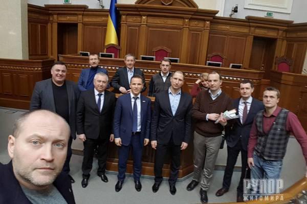 Нардеп з Житомирщини – один із «18 спартанців» Верховної ради
