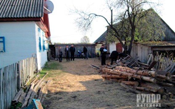 В Житомирській області - жахливе вбивство. ФОТО