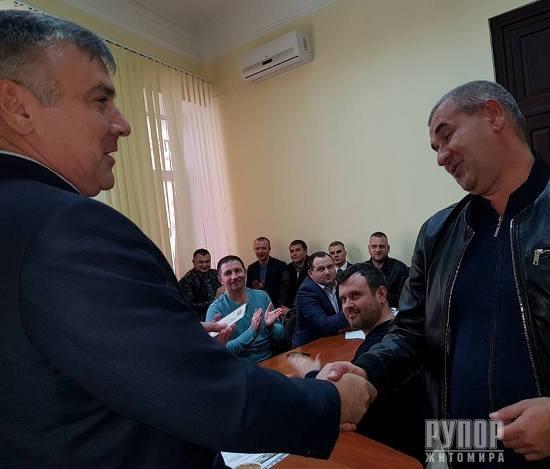 Екс-губернатор Житомирщини Юрій Забела став головним радикалом області. ФОТО