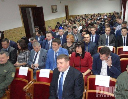 У прокуратурі Житомирської області відбулися урочистості з нагоди професійного свята