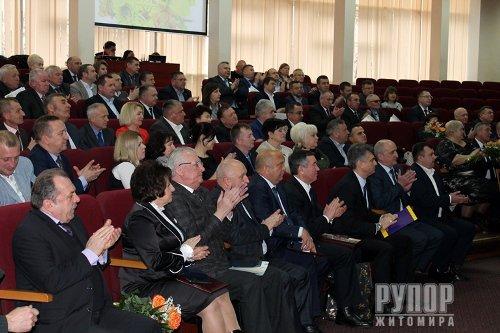 День місцевого самоврядування: Лише від усіх нас залежить, якою у подальшому буде доля нашої Житомирщини