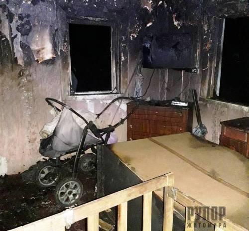 Жахлива трагедія в Житомирській області - на пожежі загинуло 2 дітей. ФОТО