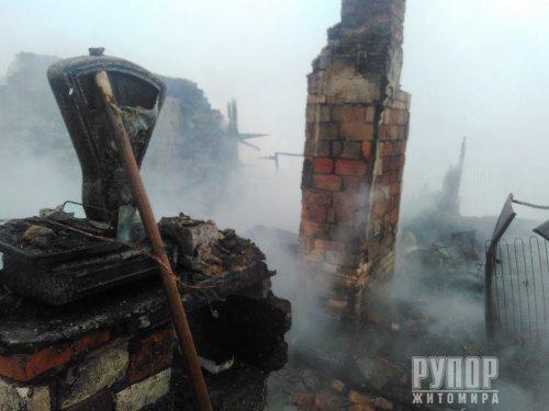 В Житомирській області вночі згорів магазин. ФОТО