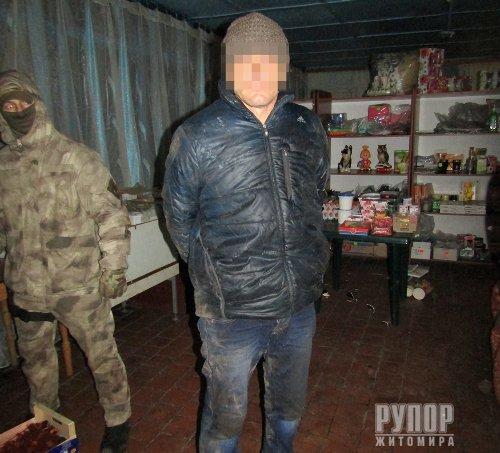 На Житомирщині затримали банду рецидивістів. ФОТО
