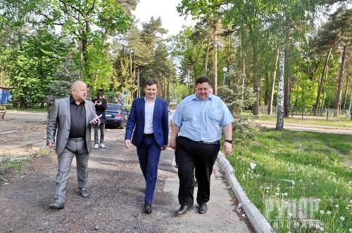 Ігор Гундич перевірив, як іде реконструкція Центру вертебрології