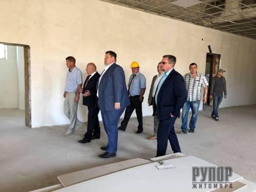 Ігор Гундич: відновлений ФОК стане спортивним осередком для жителів Овруцького району