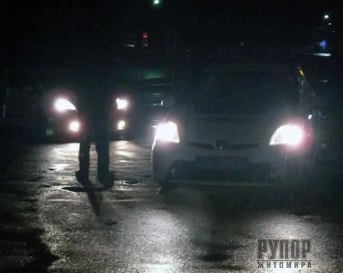 У Житомирі спецслужби затримали патрульних поліцейських. ФОТО