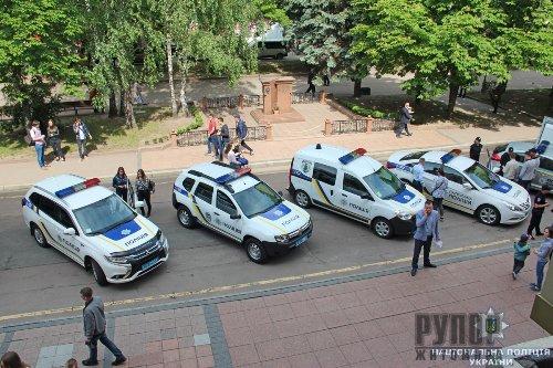 Поліцейські Житомирщини презентували технічне оснащення на регіональному форумі можливостей