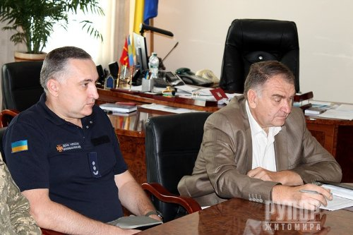Голова обласної ради обговорив з АТОвцями житлове питання