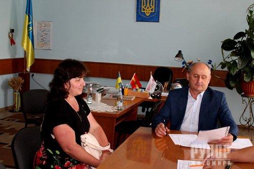 Володимир Ширма поспілкувався з жителями Любарського району