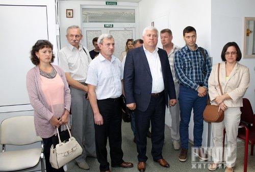 Володимир Ширма зібрав в обласній лікарні місцевих самоврядців та головних лікарів центрів ПМСД області