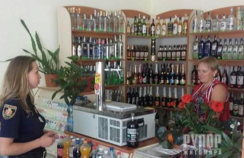 Поліція Житомирщини закликає працівників торгівельних закладів не продавати алкоголь та цигарки дітям!