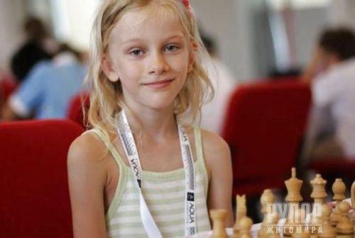 Десятирічна житомирянка представляє Україну на чемпіонаті світу із шахів у Іспанії