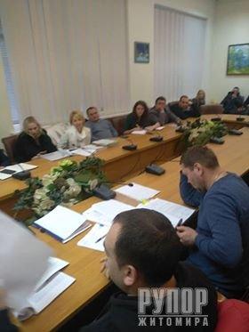 В Житомирском горсовете угрожали журналисту
