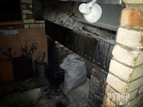 У Житомирі на території торгівельного центру «Глобал» - пожежа. ФОТО