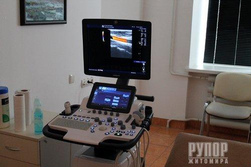 Обласна лікарня поповнилась новими сучасними УЗД-апаратами