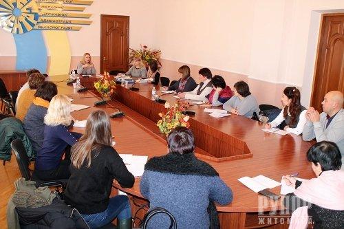 На базі виконавчого апарату обласної ради відбулось практичне заняття для посадовців ОТГ