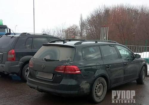 Під Житомиром під час крадіжки з авто затримали злодія-гастролера з Львівщини
