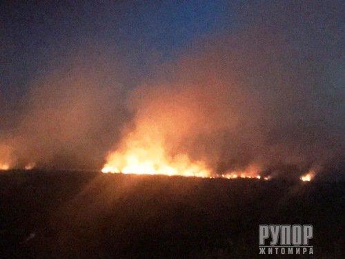 За добу по області виникло 6 пожеж, 4 з яких у Коростенському районі