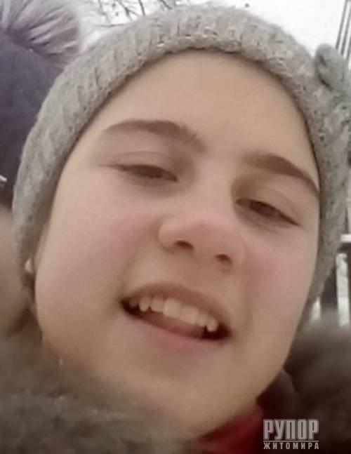 В Житомирській області зникла неповнолітня дівчина