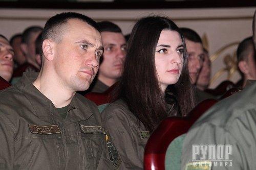 У Житомирі з професійним святом привітали житомирських нацгвардійців