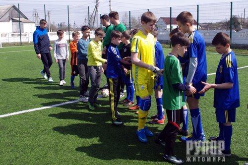 У Житомирському районі стартувала шкільна футбольна ліга