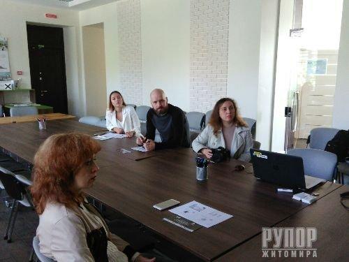 У Житомирі відбувся семінар на тему «Гендерна чутливість у житомирському медіапросторі»