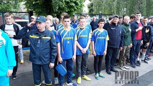 Закінчився перший день Чемпіонату Житомирщини з пожежно-прикладного спорту – призерів визначено