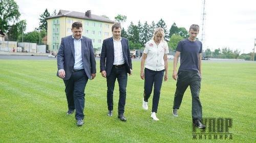 Ігор Гундич: На стадіоні «Полісся» відчувається масштабність реконструкції