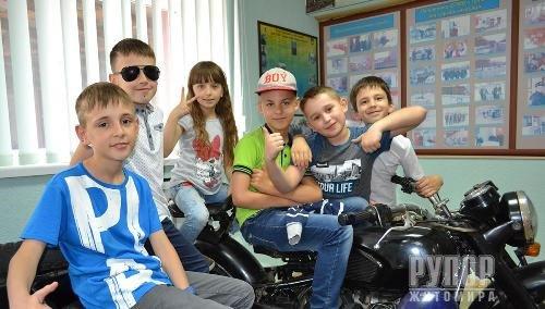 До Управління поліції охорони завітали школярі-третьокласники