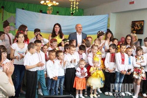 Володимир Ширма привітав вихованців «Сонячного дому» з Днем захисту дітей