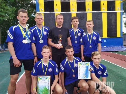 Житомирські рятувальники та юнаки стали призерами Чемпіонату України з пожежно-прикладного спорту