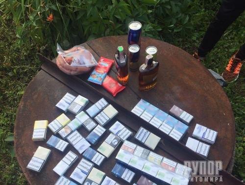 В Житомирській області група юнаків грабувала магазини