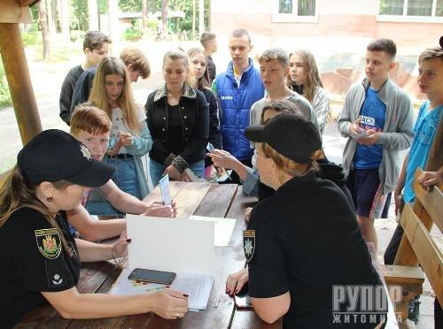 У Житомирі правоохоронці взяли участь у правовому квесті для дітей «ПравоЗнайко»