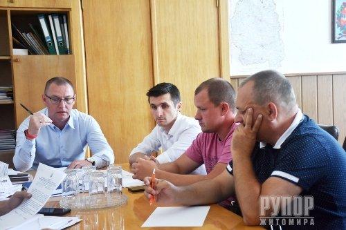 Житомирська ОДА вимагатиме фінансові санкції з підрядника у разі невчасного виконання ремонту вулиці Параджанова
