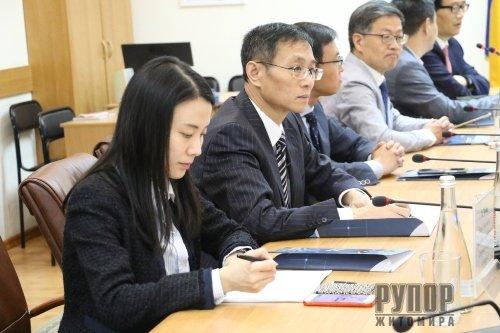 До Житомира завітала делегація з міста Ханчжоу Китайської Народної Республіки