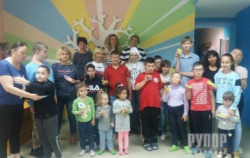У Житомирі провели майстер-клас для дітей сонця