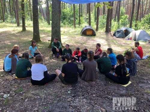 За грантової підтримки від Житомирської ОДА в області пройшли два пластових таборування