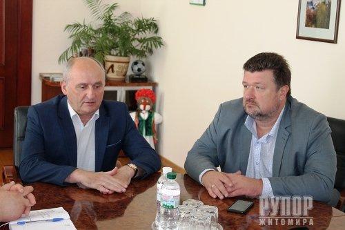 Володимир Ширма: В онкодиспансері створюватимемо комфортні умови для лікування пацієнтів
