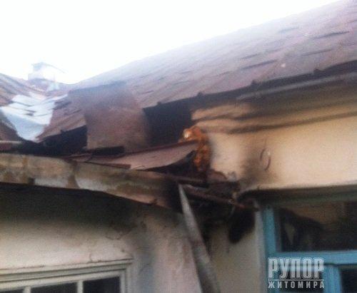 У Житомирі в двокімнатній квартирі виникла пожежа