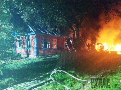 Трагедія в Житомирській області: На пожежі виявили тіла двох загиблих людей. ФОТО