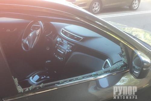 У Житомирі затримали парубка під час пограбування автомобіля
