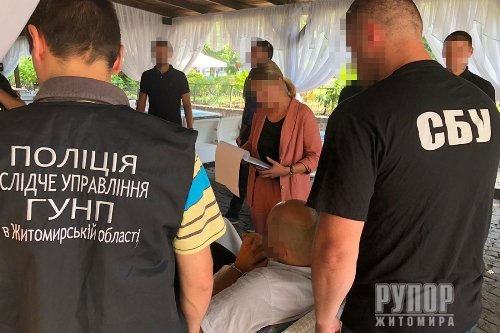 У Житомирі керівник громадської організації вимагав 30 тис дол. ФОТО