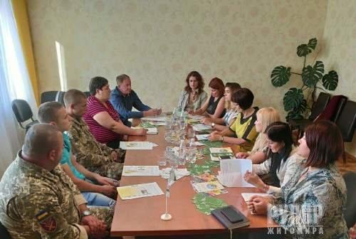 Відбувся круглий стіл про права та пільги для учасників бойових дій — учасників АТО/ООС, мешканців села Вереси