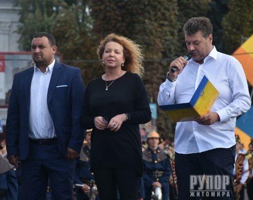 Голова ОДА Віталій Бунечко привітав житомирян із 1135-річчям міста
