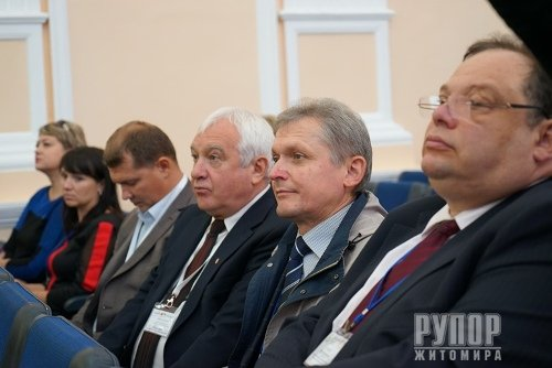Володимир Ширма в рамках проведення Другого форуму регіонів відвідав Еко форум
